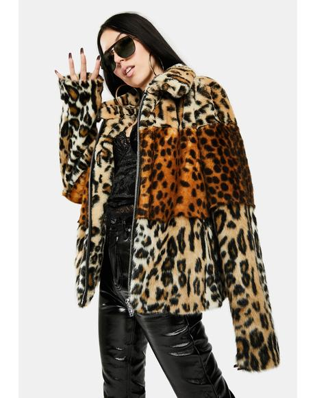 Wild One Faux Fur Jacket