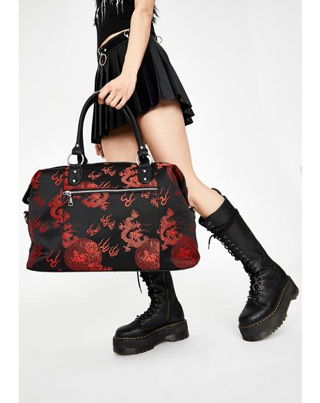 Dragon Hearted Weekender Bag