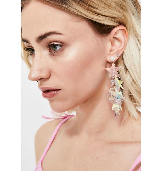 Cosmic Starshine Dangle Earrings
