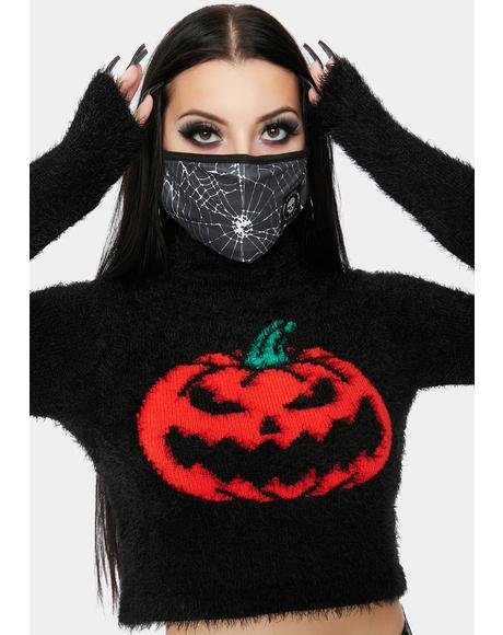 Cut It Out Crop Sweater
