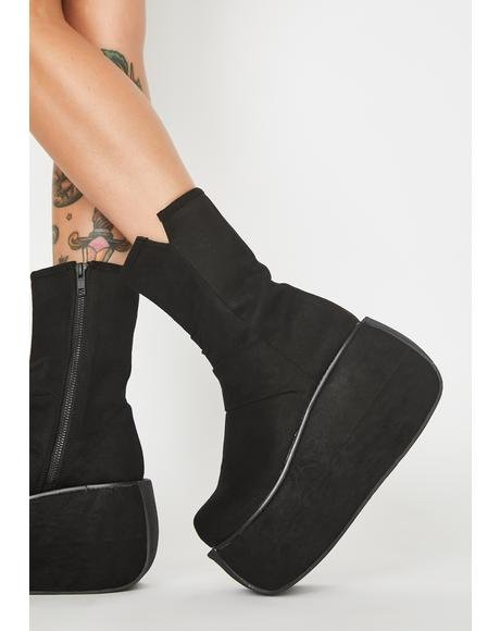 Rock The World Platform Boots