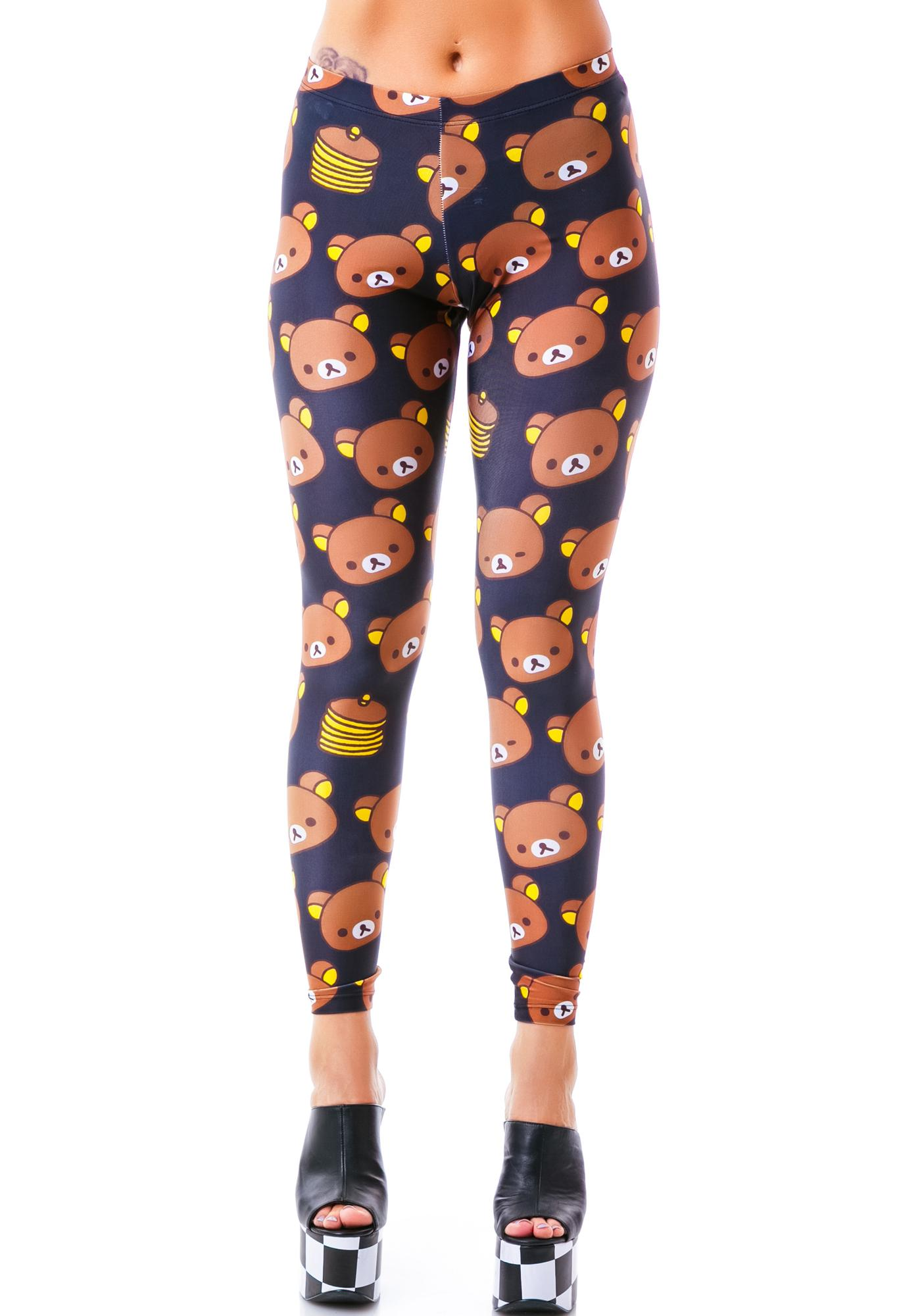 Japan L.A. Rilakkuma Pancake Leggings
