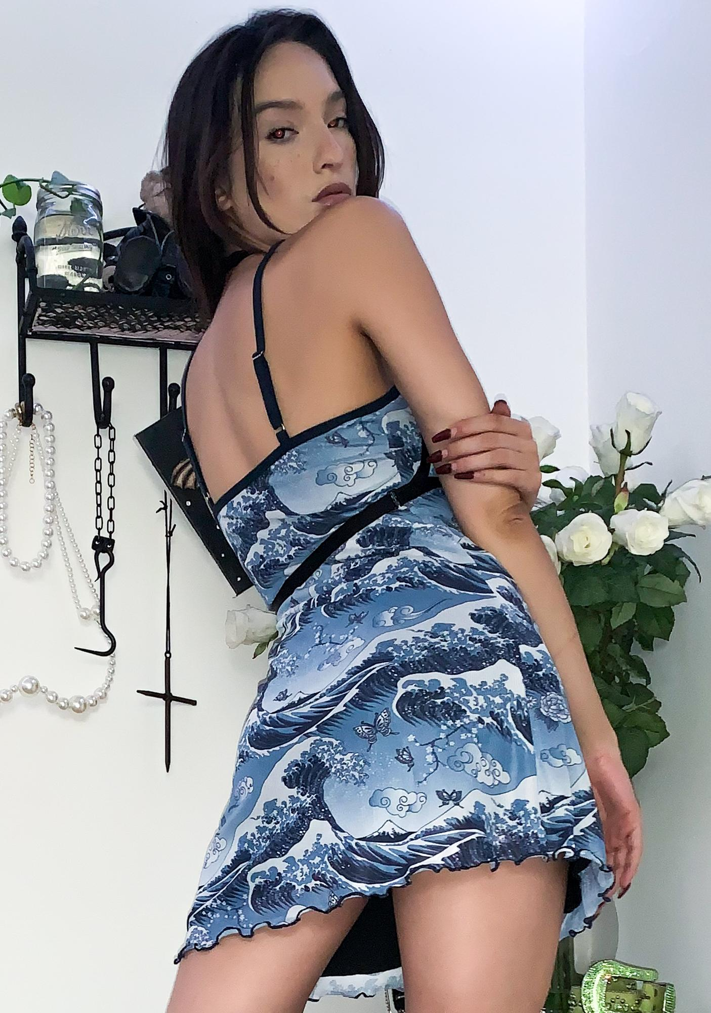 Current Mood Moves Like Water Cami Dress