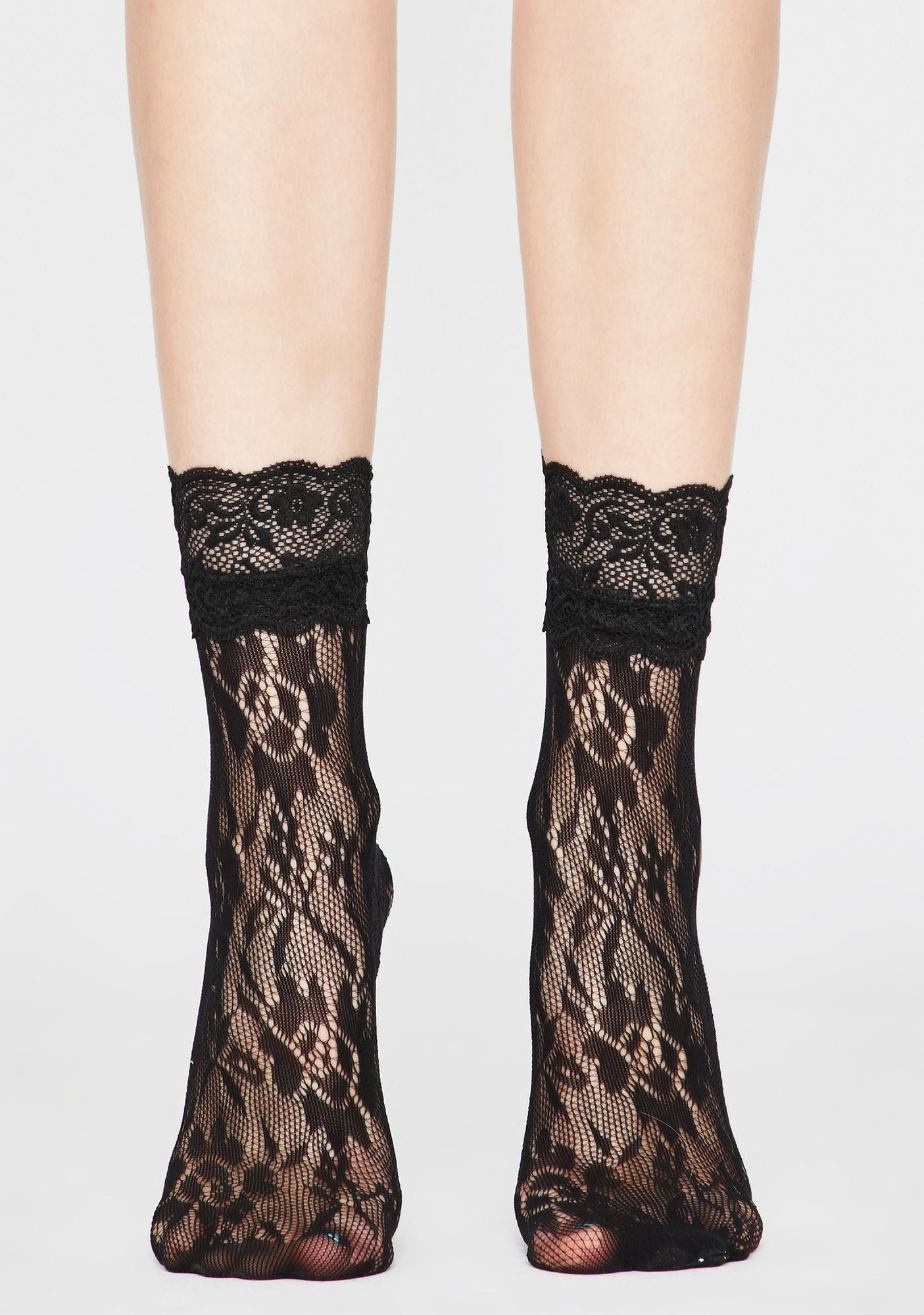 Lover Grl Lace Socks