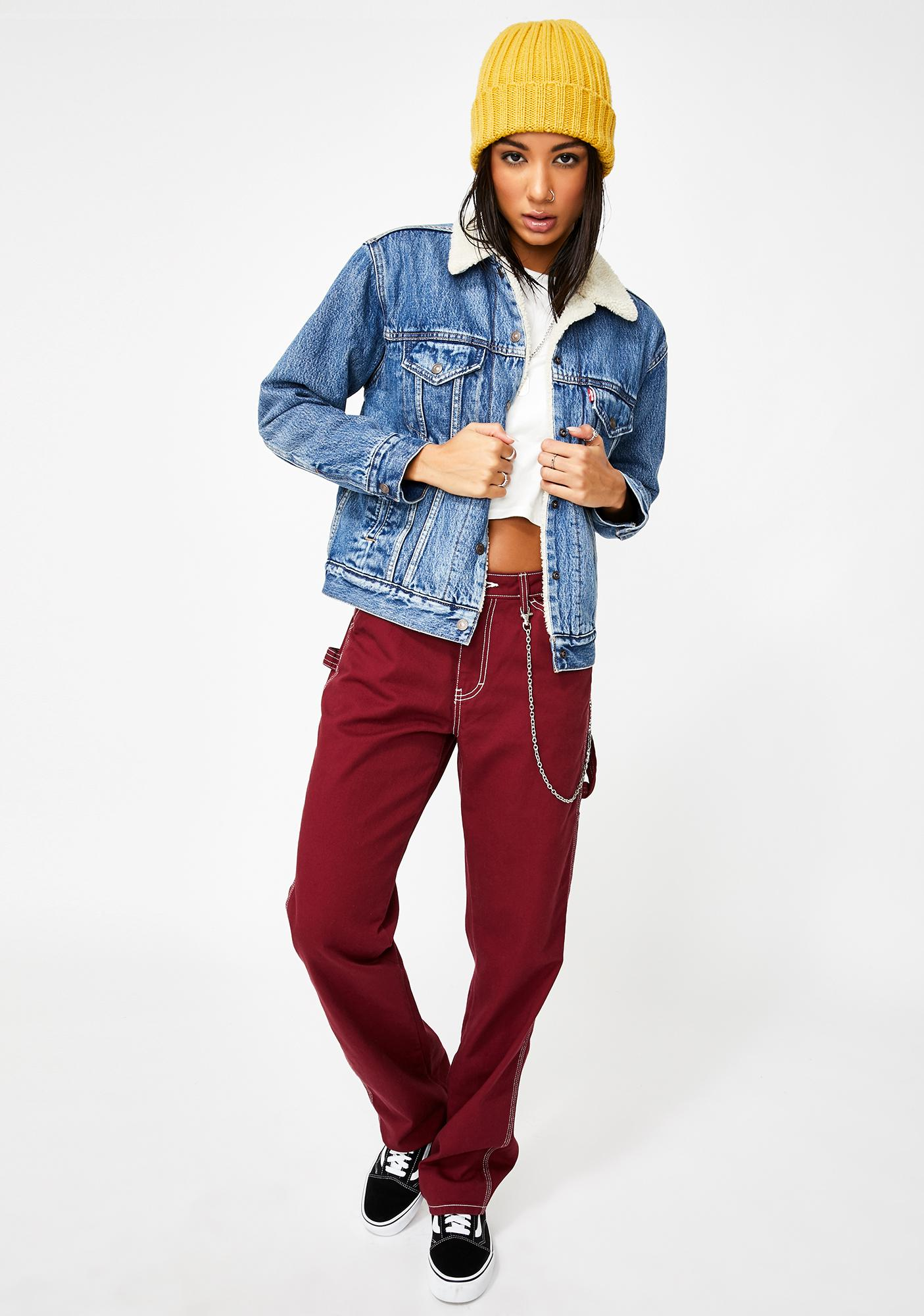 Levis Addicted To Love Sherpa Denim Jacket