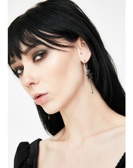 Astral Aura Rhinestone Earrings