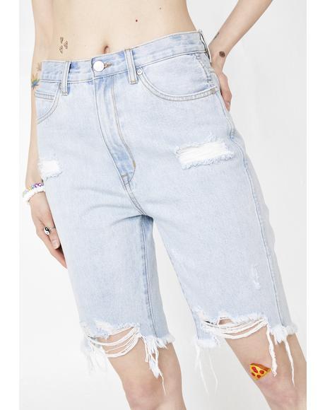 Hi Mum Cut Off Shorts