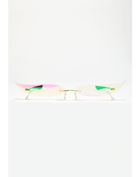 Liquid Cat Eye Glasses