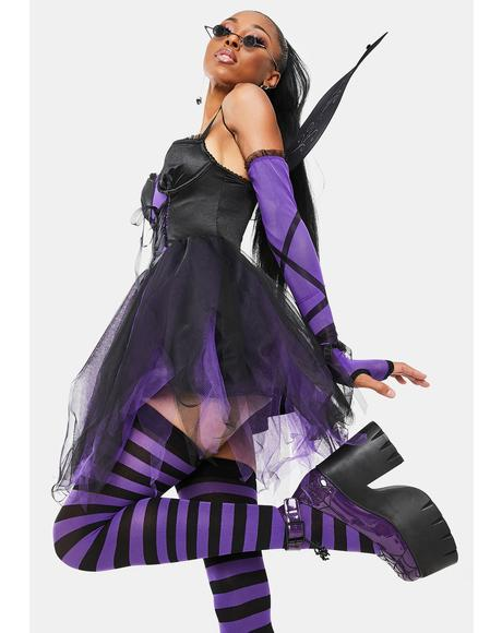 Dark Magic Fairy Costume