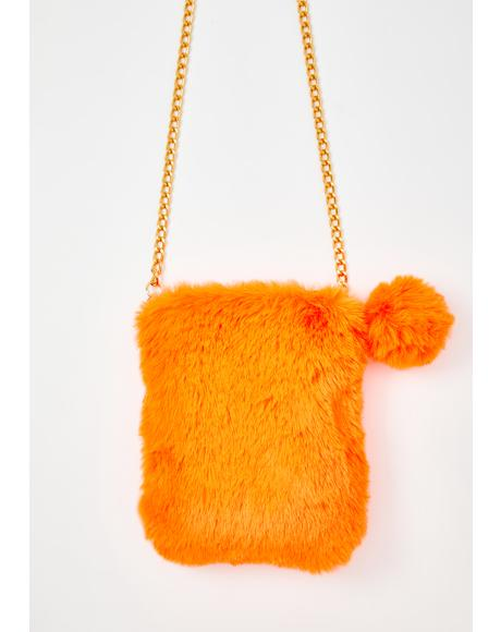Rad Fads Fuzzy Purse