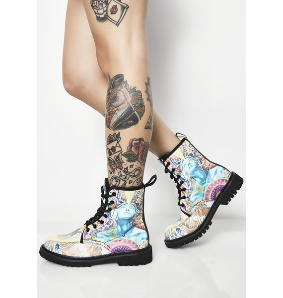 Noa Knafo Rebel Vegan Boots