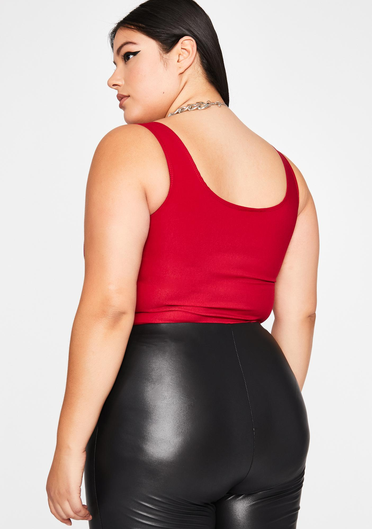 Divine Ruby Hardly Yours Corset Tank