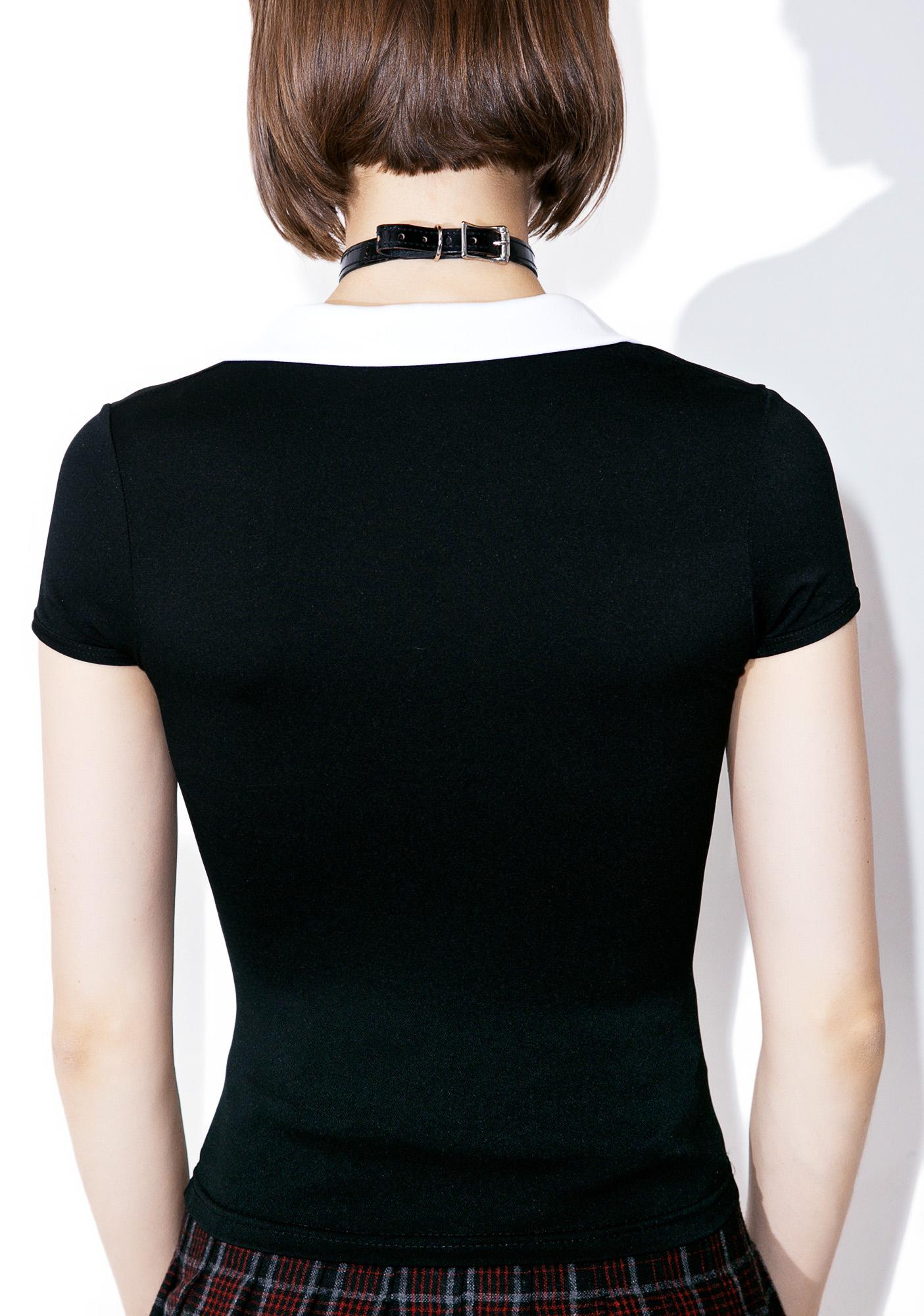 American Deadstock Collar ID Top