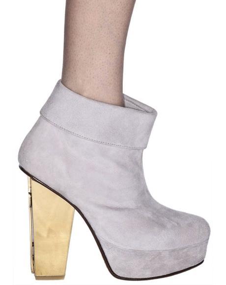 Cross Heel Boot
