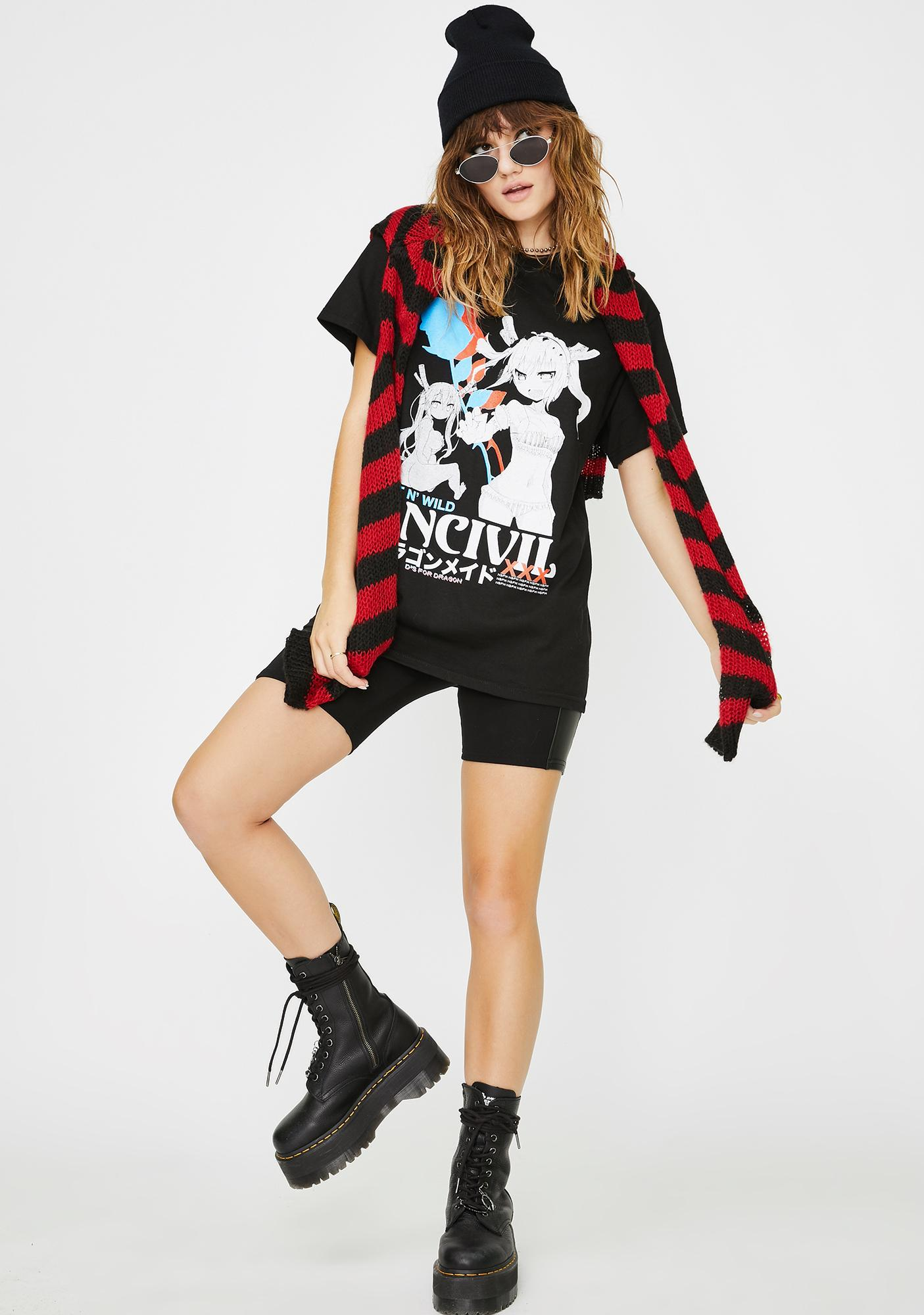 UNCIVIL XXX  Wet N' Wild Graphic Tee