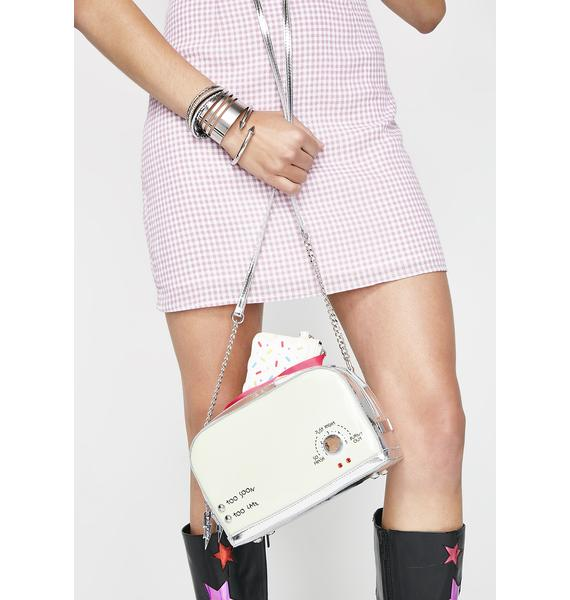 Betsey Johnson A Toast To You Crossbody Bag