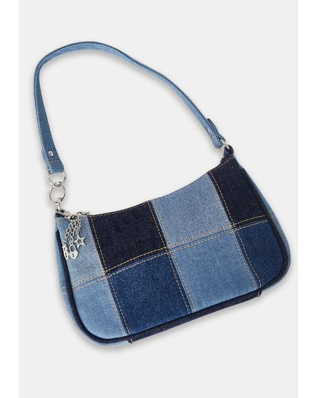 Guess Who's Back Denim Purse