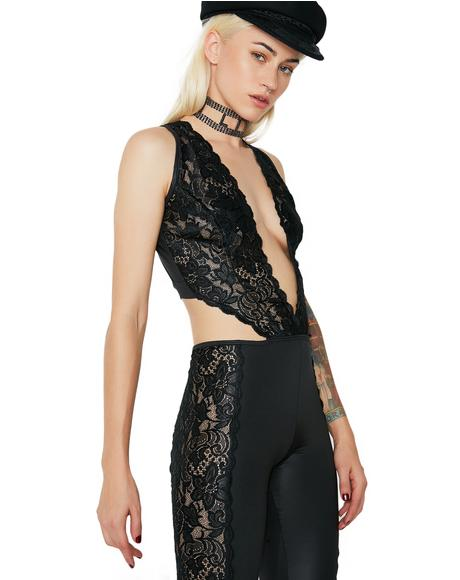 Indecent Exposure Lace Jumpsuit