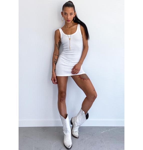 Angel Loves To Please Mini Dress