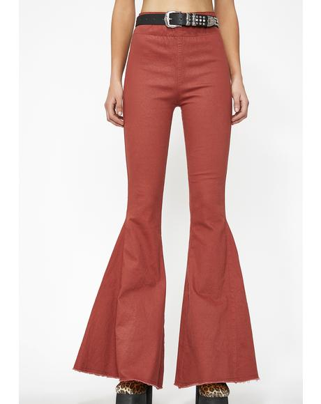 Hippie Chic Bell Bottoms