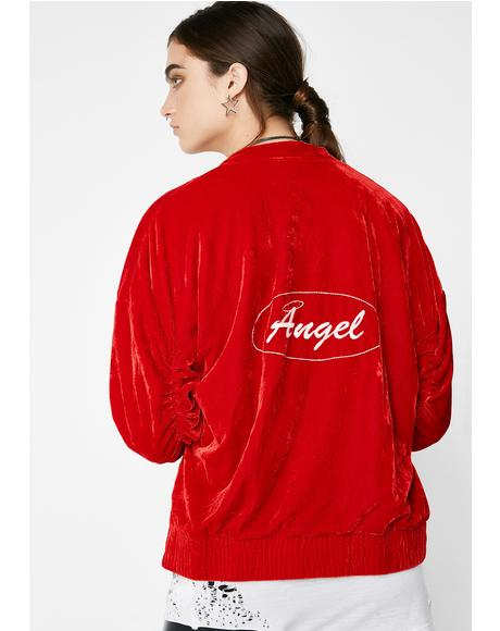 Heaven Sent Bomber Jacket