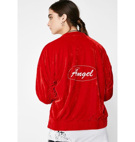 Heaven Sent Bomber Jacket