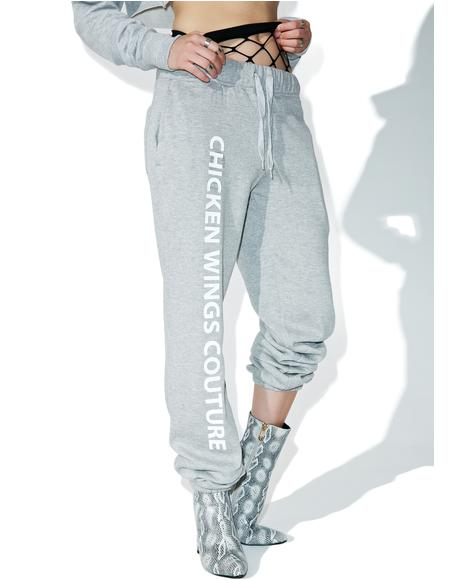 Chicken Wings Couture Sweatpants