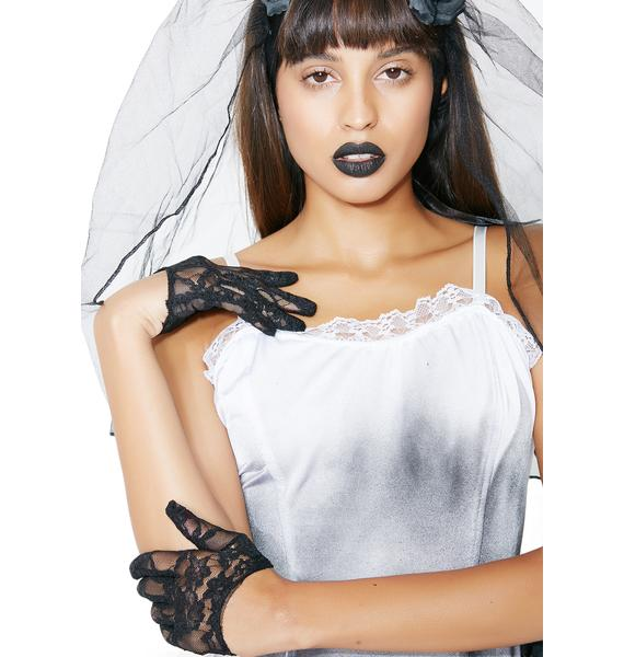 Edith Cropped Gloves
