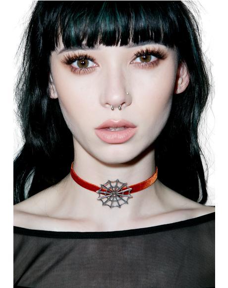 Vivian Velvet Choker