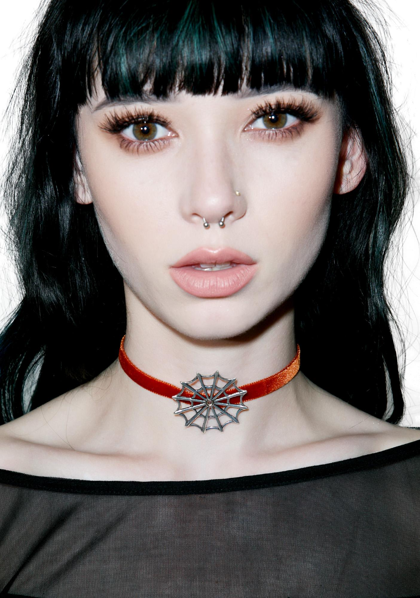 Regal Rose Vivian Velvet Choker