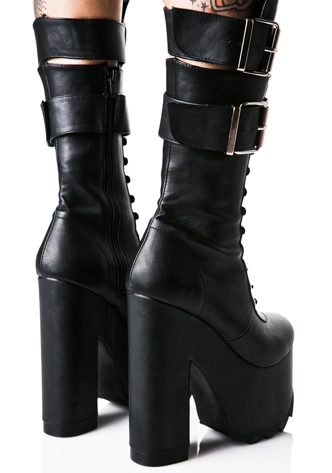 Demonia Torment Platform Boots