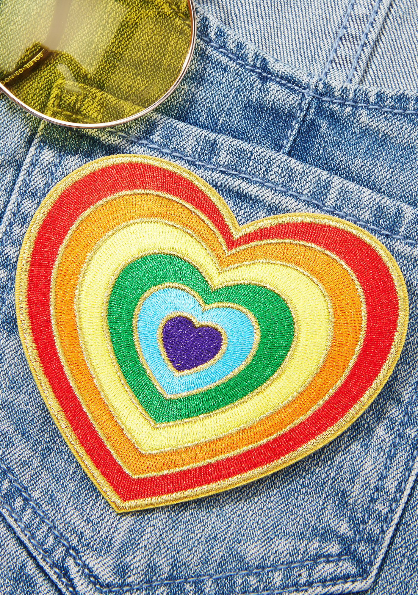 Laser Kitten Love Vibes Patch