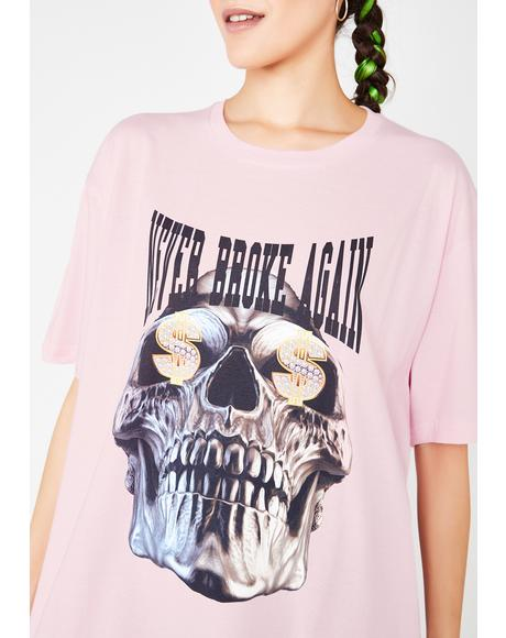 Dolla Sign Skull T-Shirt