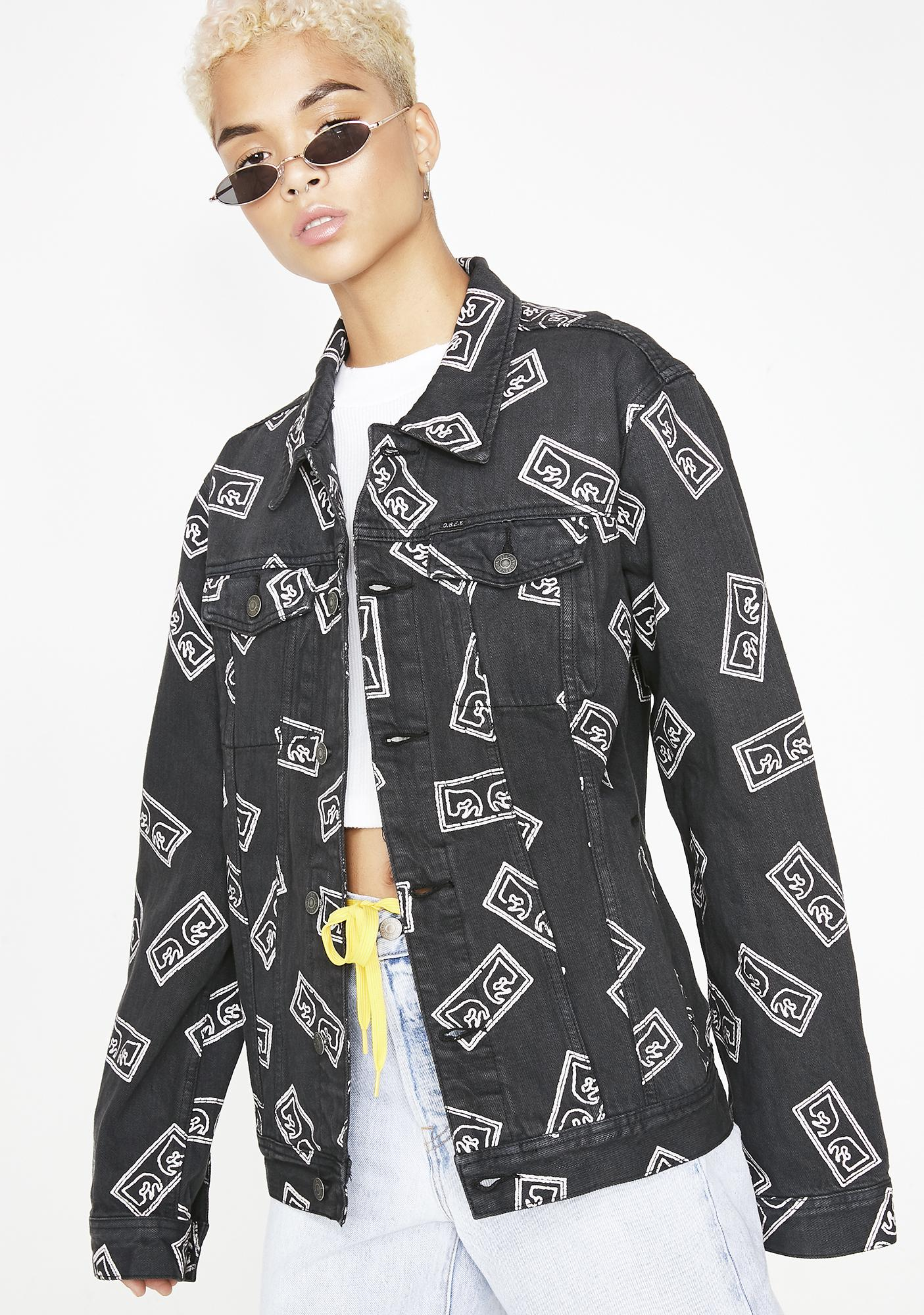 Obey Bender Eyes Jacket