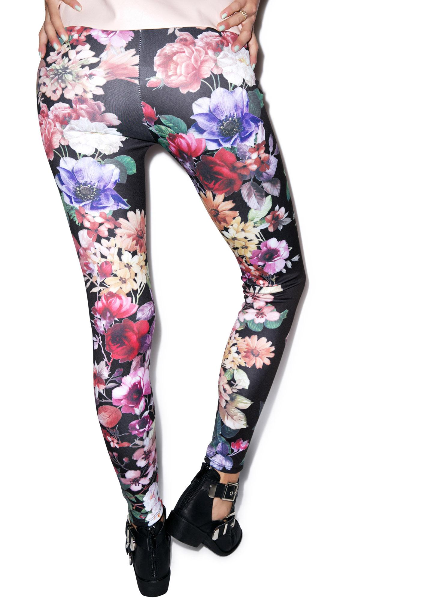 Take My Flower Leggings
