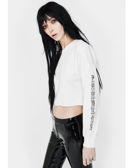 Misunderstood Cropped Sweatshirt