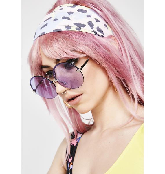 At Ur Best Round Sunglasses