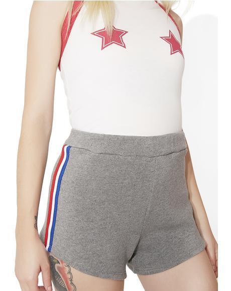 Varsity Track Star Shorts
