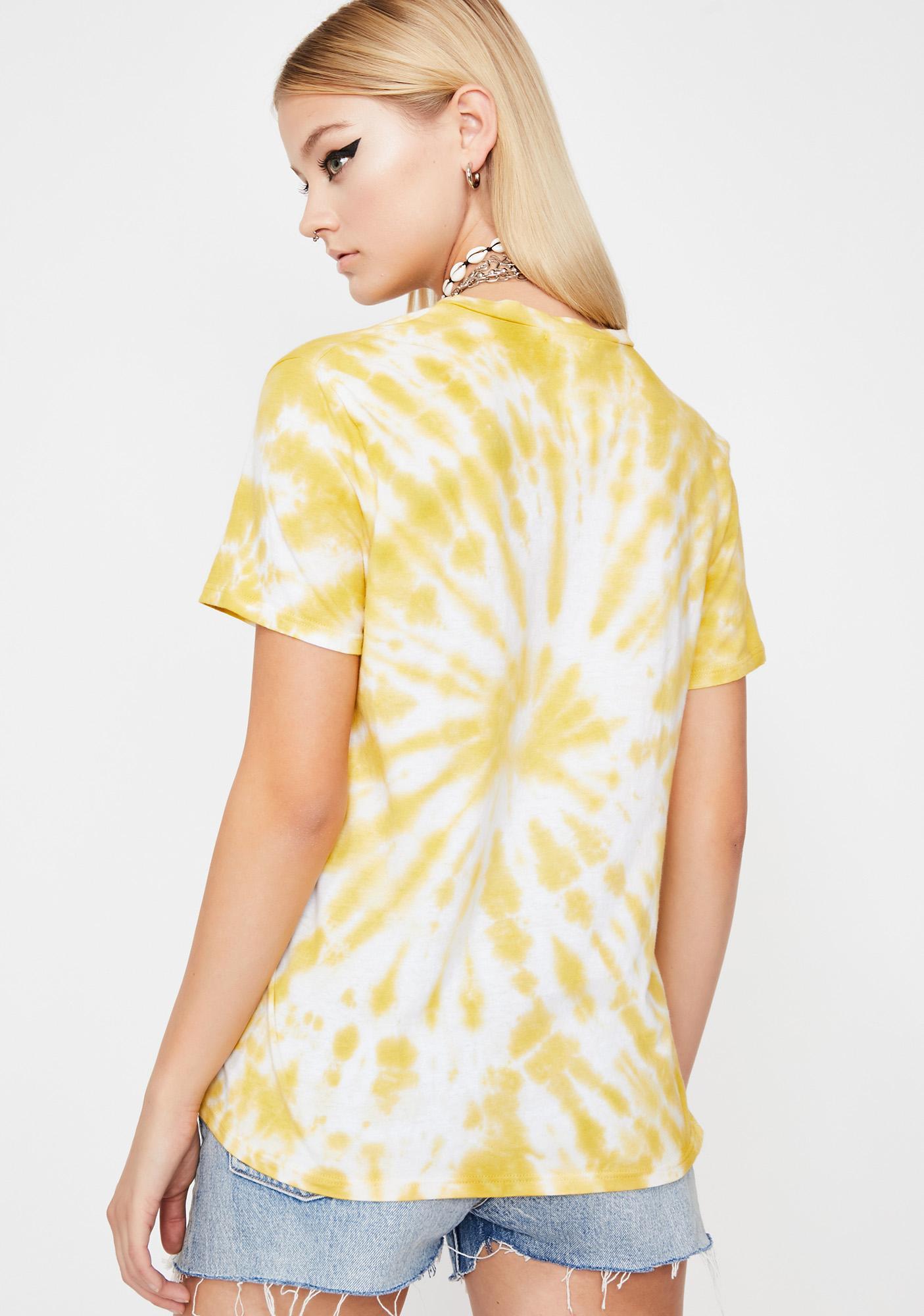 Sunny High Summer Tie-Dye Tee