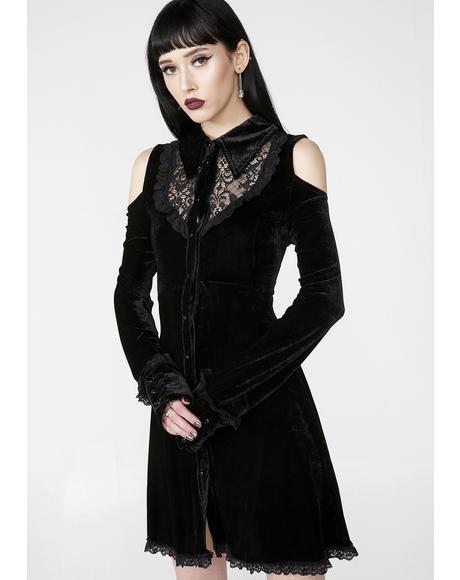 Dead Silent Shirt Dress