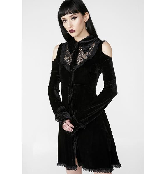 Killstar Dead Silent Shirt Dress