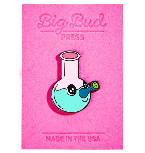 Big Bud Press Bong Buddy Enamel Pin
