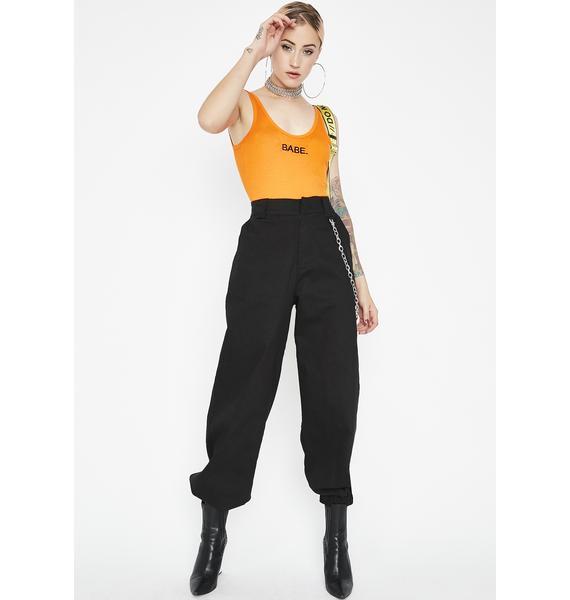 Not Your Babe Tank Bodysuit