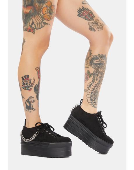 Levelled Up Chunky Platform Sneakers