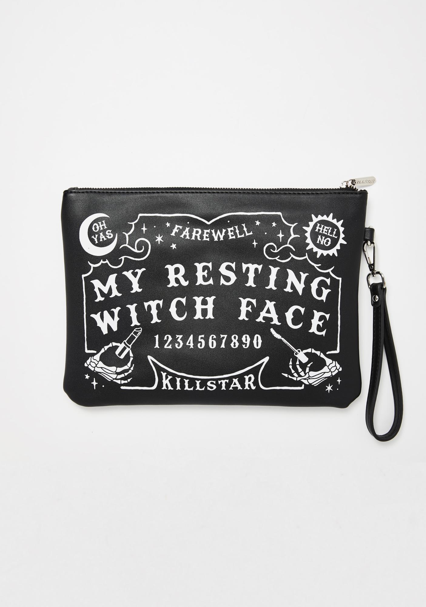 Killstar Witch Face Makeup Bag
