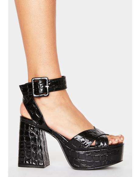 Major Empire Platform Heels