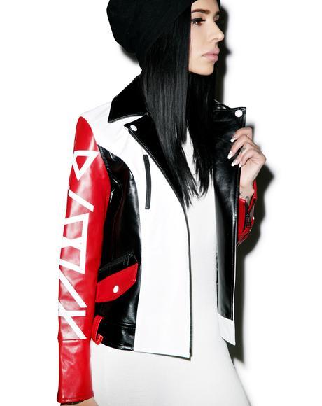 Blvck Goddess Moto Jacket