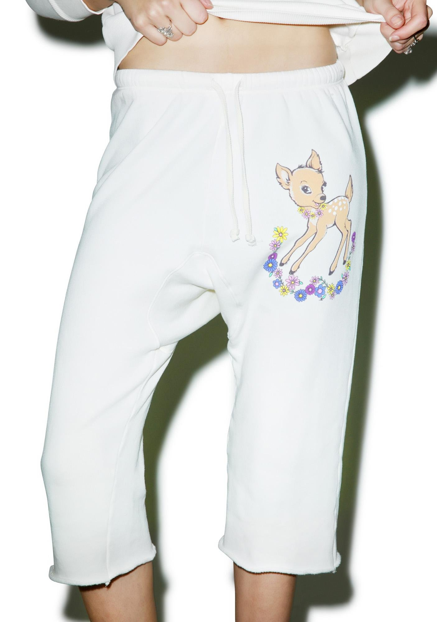 Wildfox Couture Vintage Deer Couch Princess Joggers