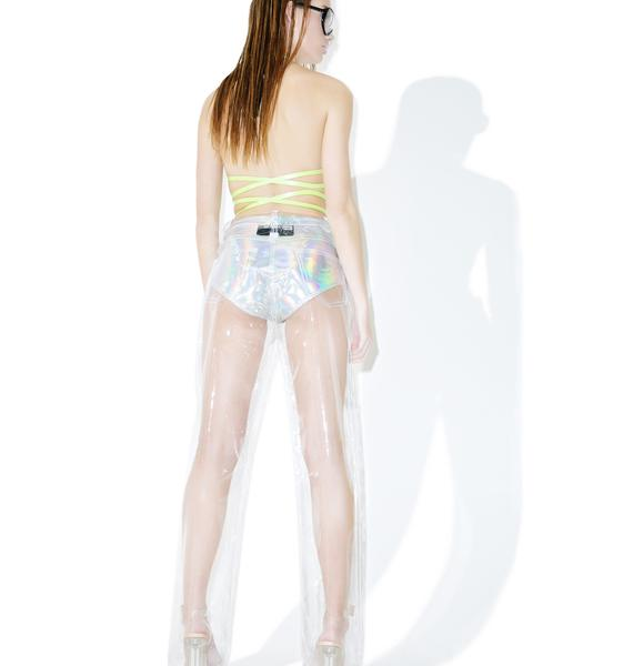 Brashy Crystalline Clear Pants