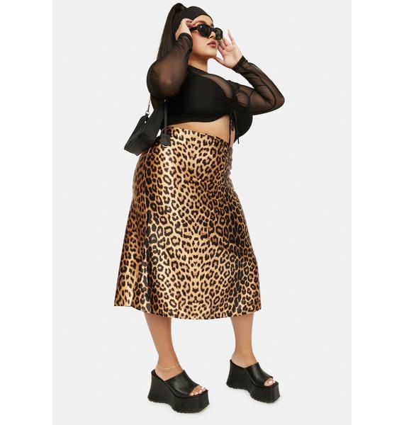 Sienna On Good Behavior Midi Skirt